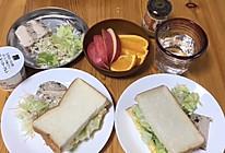 #全电厨王料理挑战赛热力开战!#日式鸡蛋三明治的做法