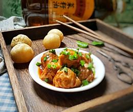 面筋塞肉#金龙鱼外婆乡小榨菜籽油 外婆的食光机#的做法