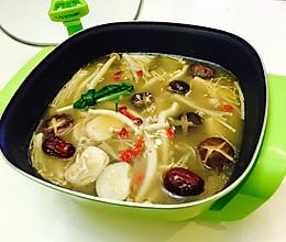 鲜香菌菇火锅汤底#利仁火锅节#的做法