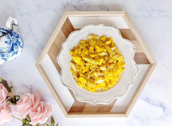 《昨日的美食》蛋炒竹笋丝配榨菜#520,美食撩动TA的心!#的做法