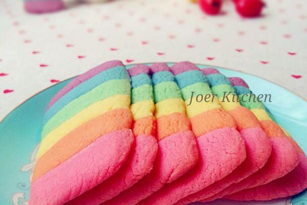 彩虹饼干——小清新治愈系的做法