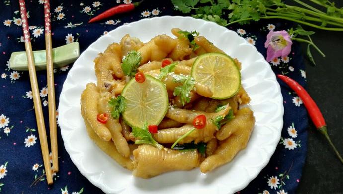 #一人一道拿手菜#小清新柠檬鸡爪