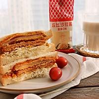 炸火腿三明治#丘比三明治#的做法图解12