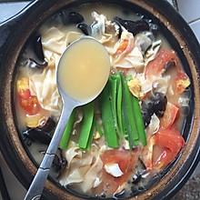 高汤炖杂蔬