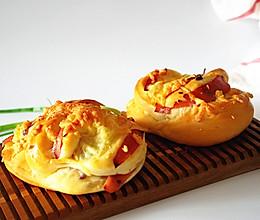 芝士火腿洋葱面包的做法