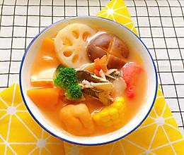 可以喝汤的番茄鱼火锅的做法