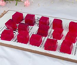 ㊙️自制超好吃的火龙果果冻。的做法