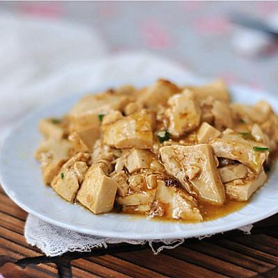超级美味下饭的蚝油豆腐
