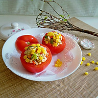 什锦炒饭番茄盅