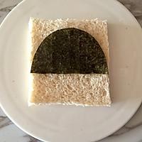 芝士萌娃三明治|樱桃小丸子#百吉福食尚达人#的做法图解3