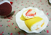 芒果班戟&草莓班戟的做法
