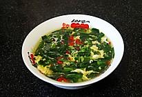 菠菜蛋花汤的做法
