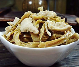 黄花菜炒鸡肉丝的做法