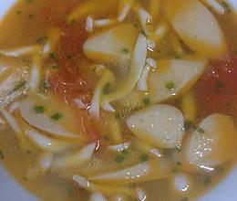 蕃茄蘑菇汤的做法