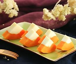 木瓜牛奶冻——迷迭香的做法