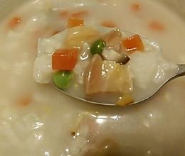 腊八粥——香咸浓稠的五彩八效食物组合电饭锅步骤的做法