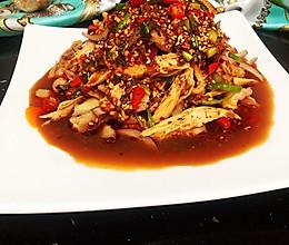 #营养小食光#网红椒麻鸡#一道能减肥的美食的做法