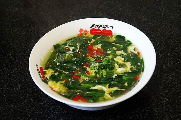 菠菜蛋花汤