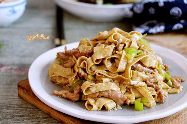 尖椒干豆腐丝的做法