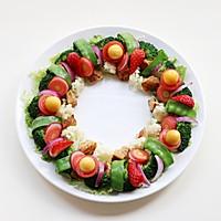 圣诞花环-丘比沙拉汁的做法图解13