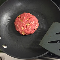 【孤独的留学生】自制牛肉小汉堡的做法图解9