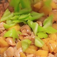 酸甜菠萝炒鸡丁的做法图解11