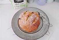 #Niamh一步搞定懒人面包#葡萄干燕麦面包的做法