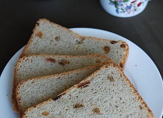 意式全麦葡萄干面包——东菱面包机DL-T12试用的做法