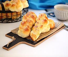 砂糖麻花面包的做法