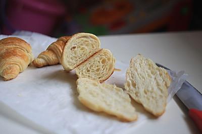 烤箱试用 可颂牛角包#九阳烘焙剧场#