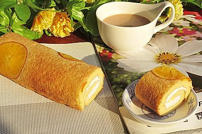#九阳烘焙剧场#香橙蛋糕卷