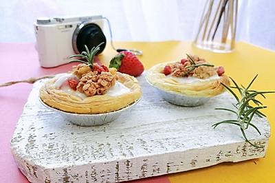 #肉食者联盟#草莓酸奶挞