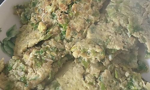 生菜竹笋焖蛋的做法