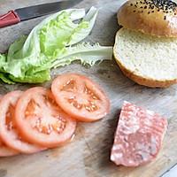 5分钟汉堡#利仁美食穿越#的做法图解1