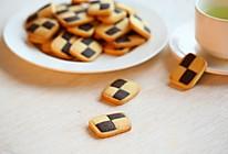棋格饼干的做法