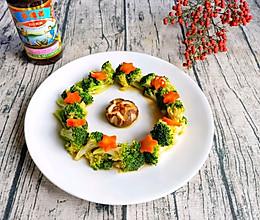 #李锦记旧庄蚝油鲜蚝鲜煮#蚝油香菇西兰花的做法