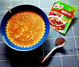 #低脂也美味#酸辣紫菜虾皮汤的做法