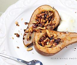 肉桂蜂蜜烤梨的做法