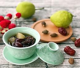 清热利咽 胖大海梨子茶的做法