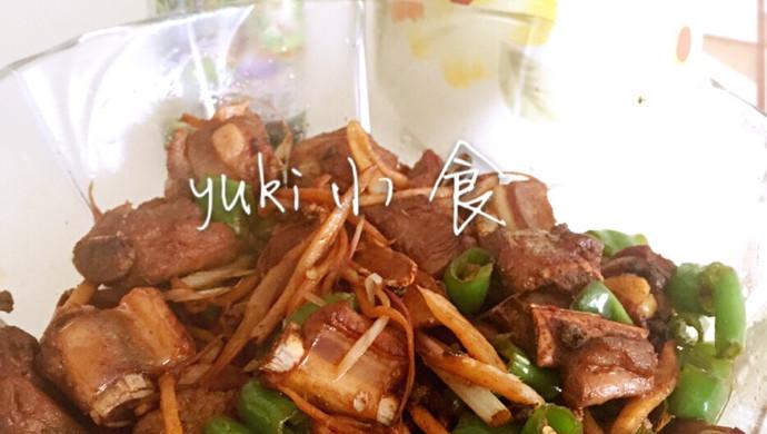 #菁选酱油试用之干煸排骨