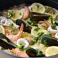 什锦海鲜饭 #父亲节,给老爸做道菜#的做法图解8