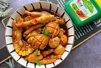 #一勺葱伴侣,成就招牌美味#酱香鸡爪鲍鱼煲的做法
