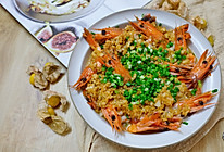 蒜蓉九节虾的做法