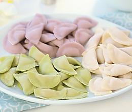 彩色迷你小水饺 宝宝辅食微课堂的做法