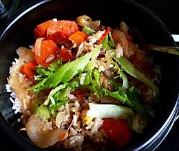 石锅羊肉拌饭的做法
