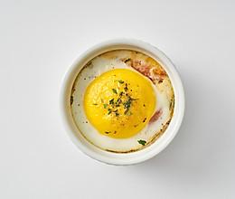 法式小盅蛋配番茄的做法