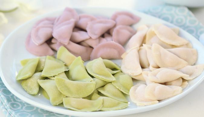 彩色迷你小水饺 宝宝辅食微课堂