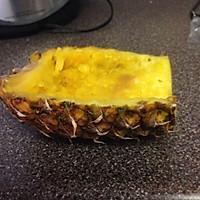 菠萝饭-营养全面能待客的做法图解3