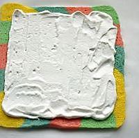 五彩斑斓的彩虹蛋糕卷#长帝烘焙节#的做法图解13