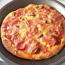 爱烹饪的占卜师-培根火腿披萨